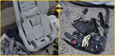 How To SAFETY car seat recycling 2