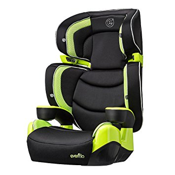 Evenflo RightFit Booster How To SAFETY Car Seat Installation