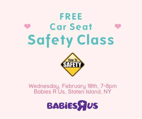 how to safety holds a free car seat safety class at babies r us staten island how to safety. Black Bedroom Furniture Sets. Home Design Ideas