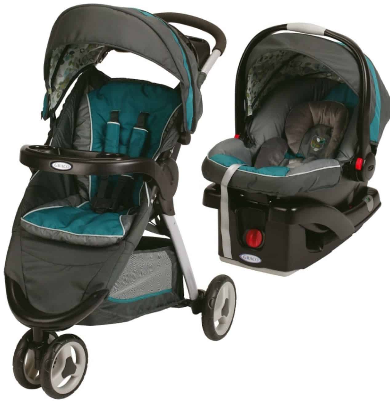 3f647b07eaa2 Graco FastAction Fold Sport Snugride Click Connect 35 Travel System ...