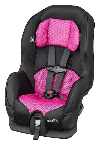 Evenflo Tribute Convertible Car Seat Safety Ratings