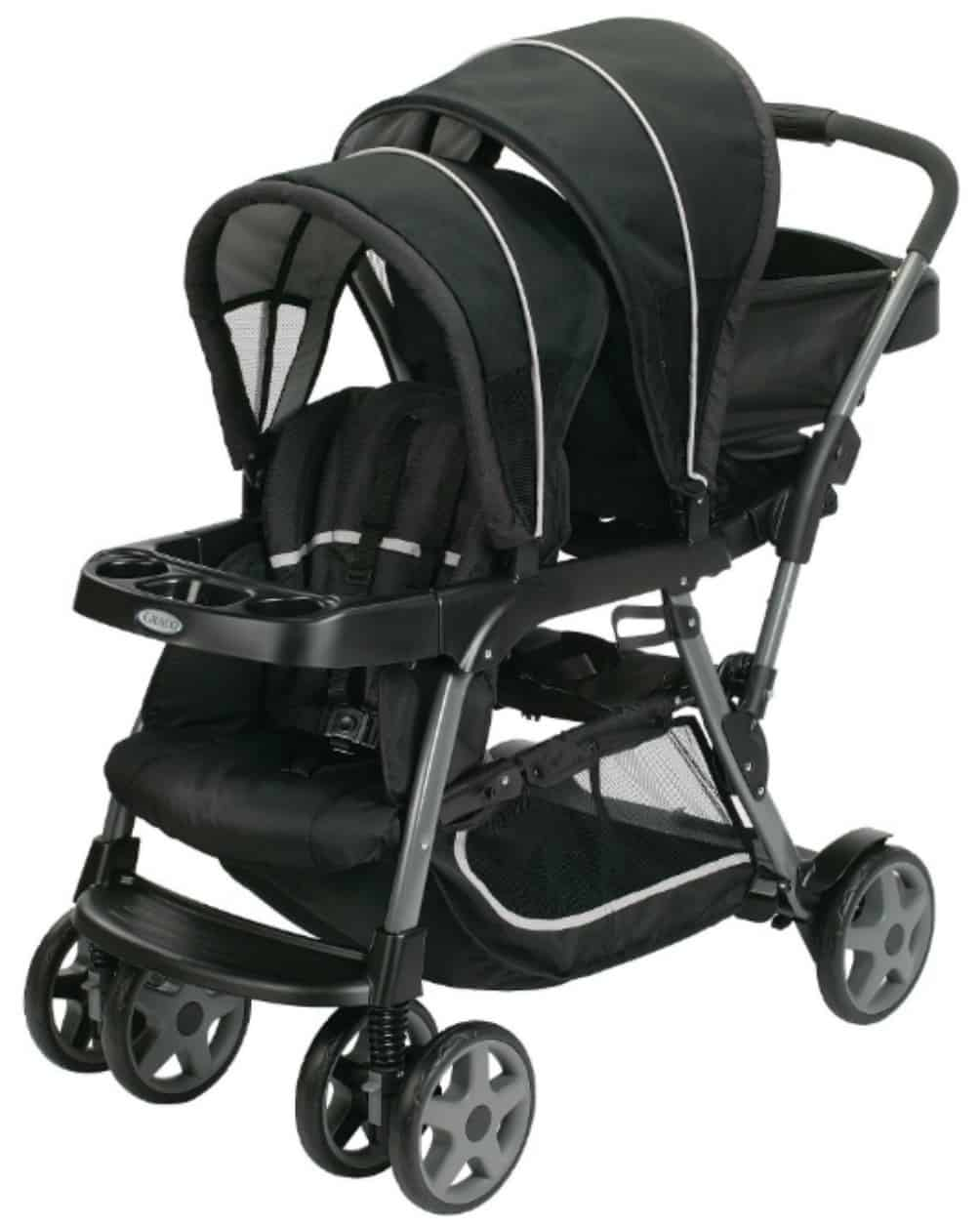 Graco Ready2Grow Click Connect Double Stroller - How-To ...