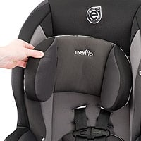 Evenflo Sureride Dlx Convertible Car Seat Installation
