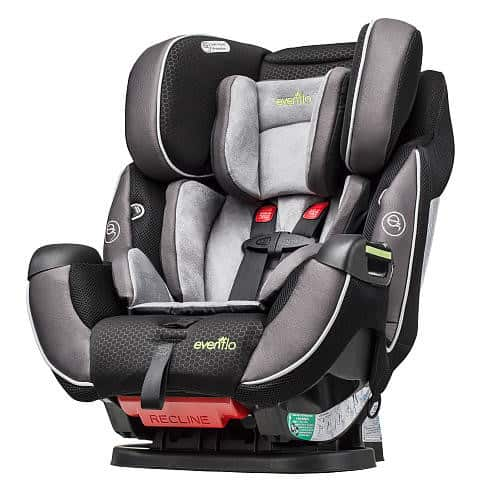Evenflo Symphony Elite All In One How To SAFETY Car Seat