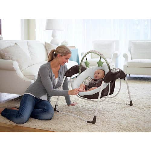 Graco Glider Lite Lx Gliding Swing How To Safety Car