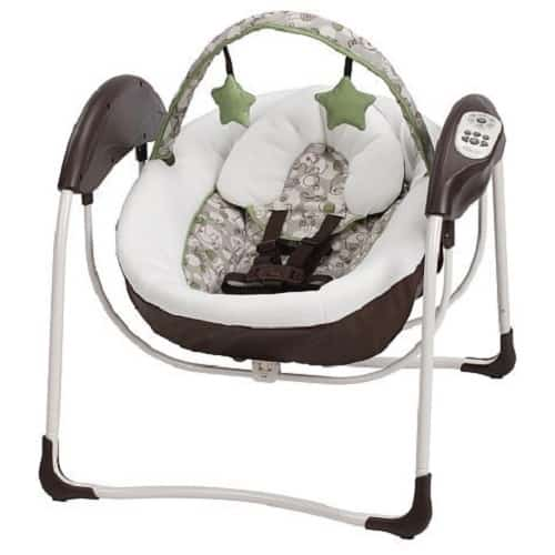 Graco Glider Lite LX Gliding Swing How To SAFETY Car Seat