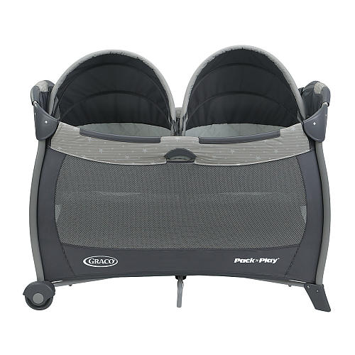 Graco Pack N Play Playard With Twins Bassinet How To