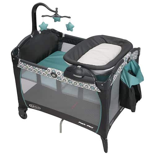 Graco Pack N Play Playard With Portable Napper Changer
