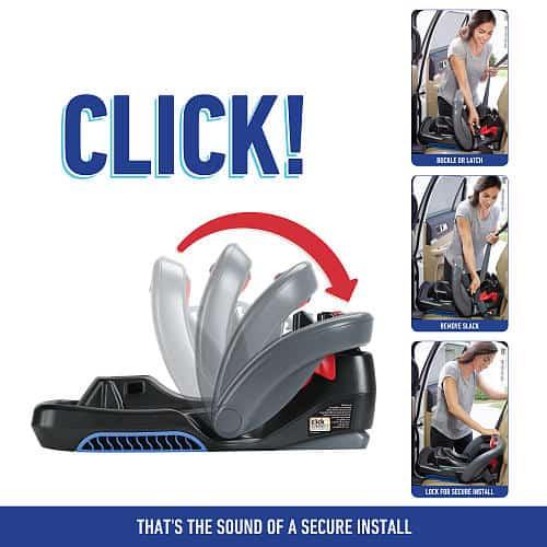 Graco Snugride Click Connect  Infant Car Seat Base Manual