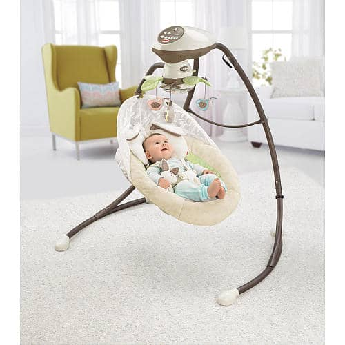 Fisher Price Deluxe Cradle N Swing Manual